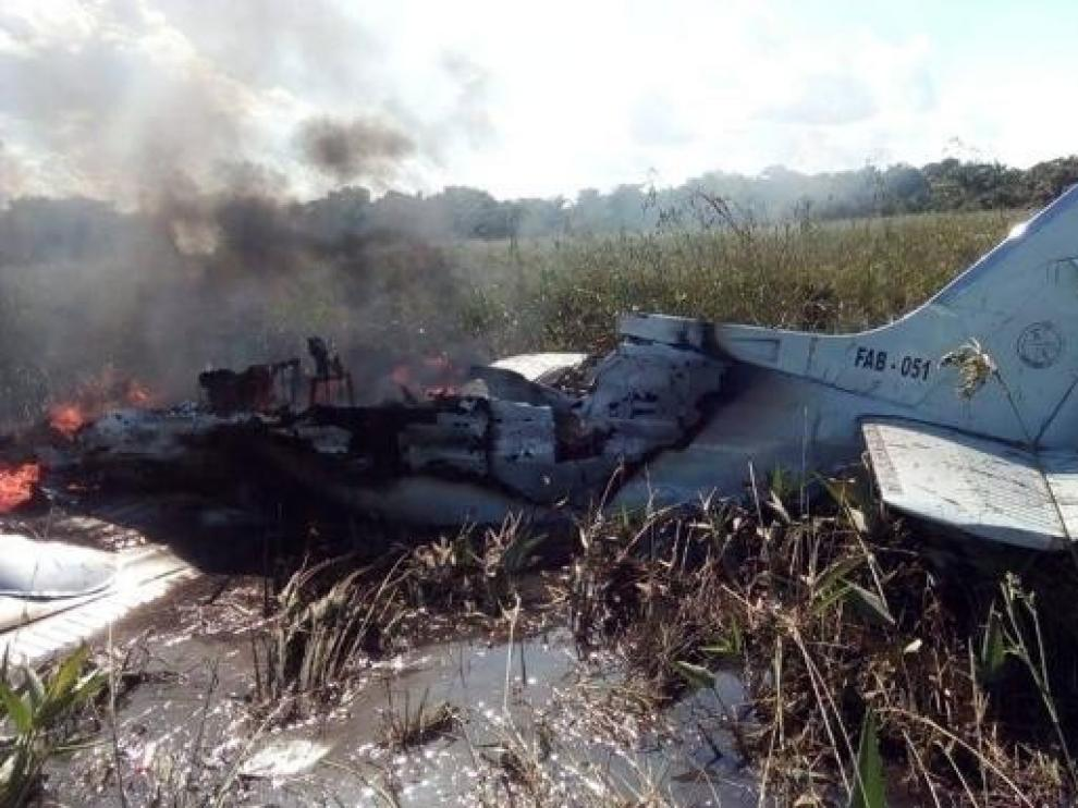 Mueren cuatro españoles al estrellarse una avioneta en Bolivia