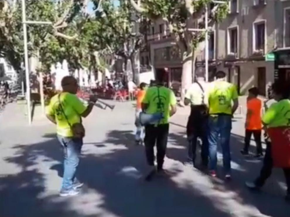 El paseo del Coso de Barbastro, protagonista en un vídeo de Blanca Solanas