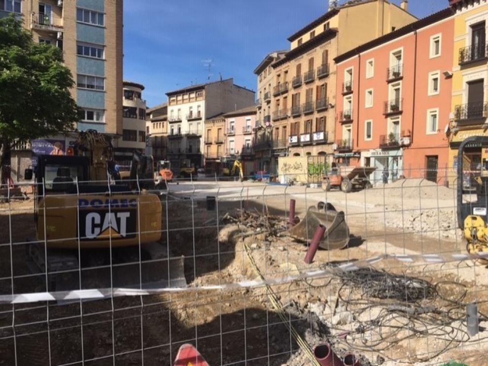 Avanzan las dos principales obras públicas de la ciudad