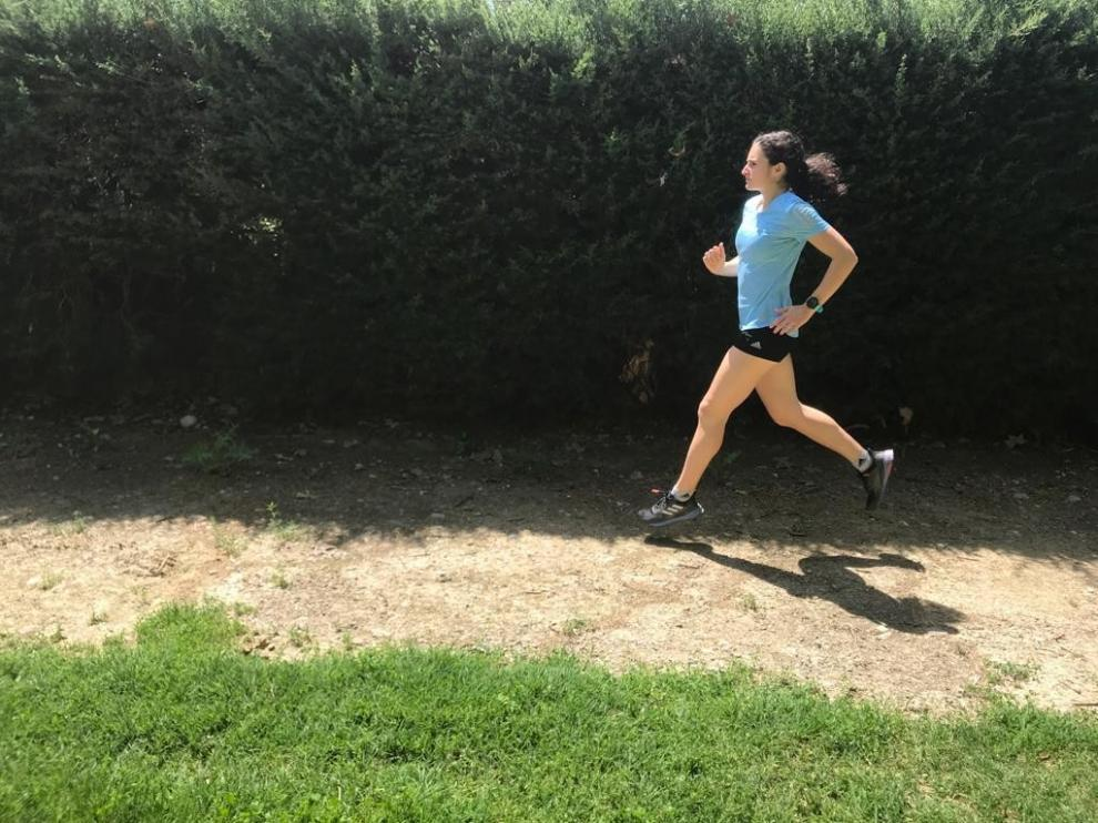 "Cristina Espejo recupera ""la sensación de correr en libertad"""