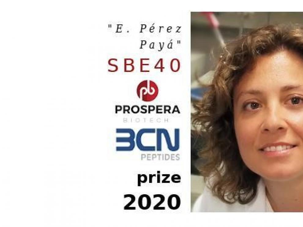 La barbastrense Nunilo Cremades, premiada por la Sociedad Biofísica