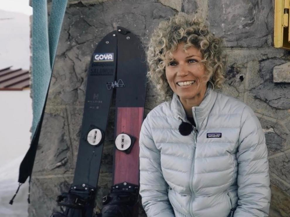 """Ana Salvador: """"Me gusta ascender por montañas vírgenes, lejos de las estaciones"""""""