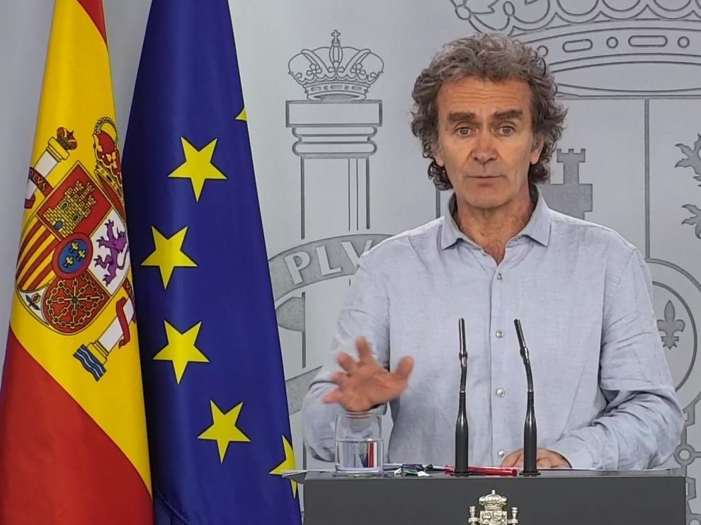 Fernando Simón pide que se garantice la distancia entre niños en las clases y patios
