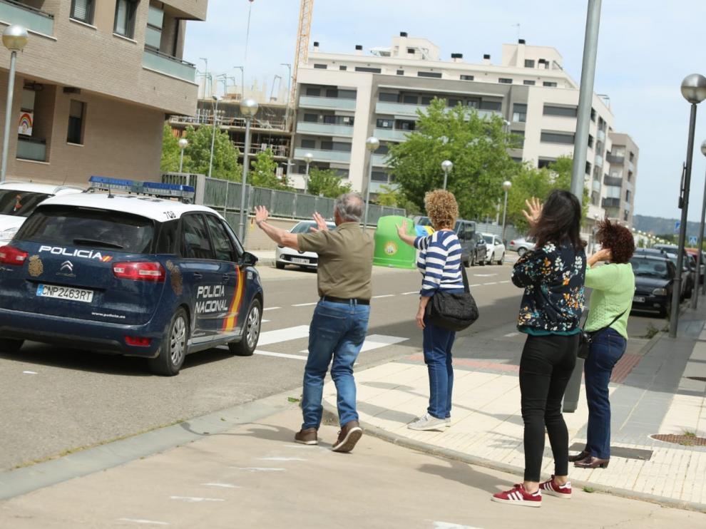 Trasladado a la cárcel de Zuera el guardia civil de Huesca que apuñaló a un compañero