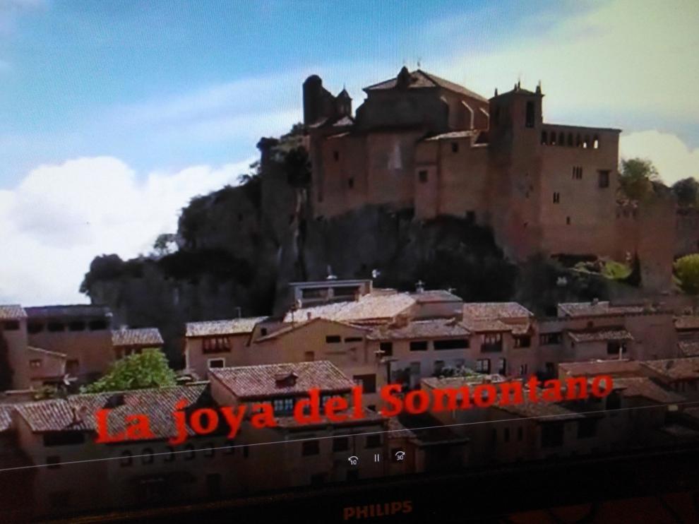 La Colegiata de Alquézar protagoniza un vídeo para animar a la población