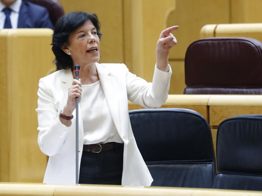 Isabel Celaá niega el cierre de los centros de educación especial