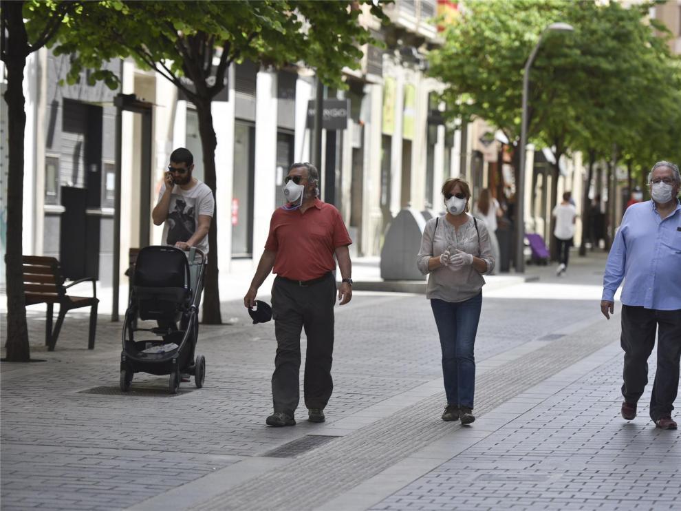 La DGA pide al Gobierno que ciertas comarcas salten a la fase 2 el próximo lunes