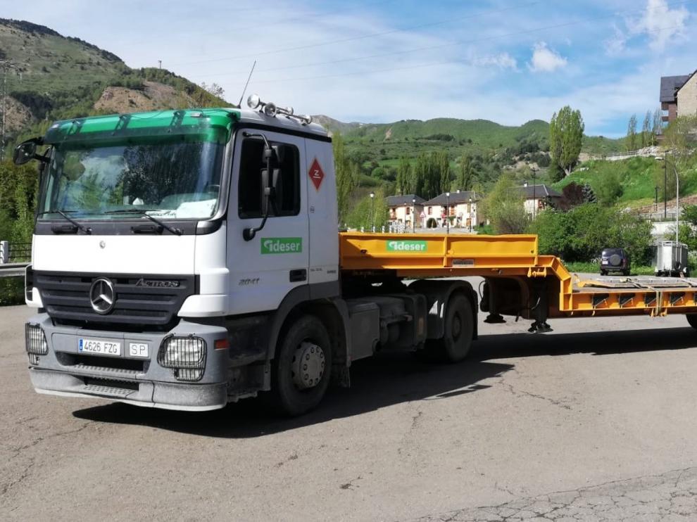 Comienzan las obras de la depuradora de aguas residuales de Sallent-Formigal