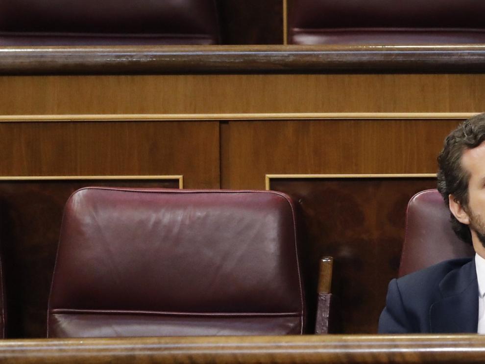 """Casado afirma que"""" Sánchez está cada vez más solo y el PP no será su tabla de salvación """""""