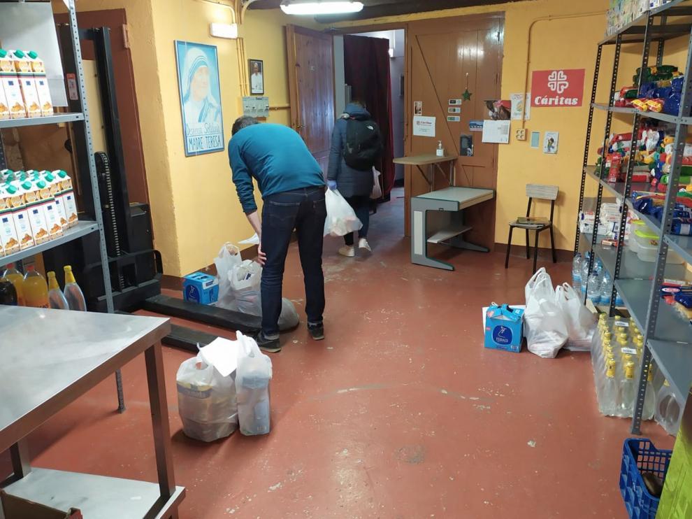 """Cáritas Jaca propone a los vecinos que hagan """"paseos solidarios"""""""