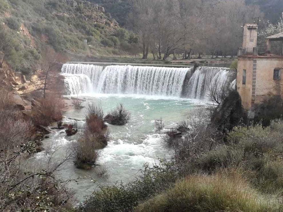 El salto de Bierge abre para los bañistas desde este lunes