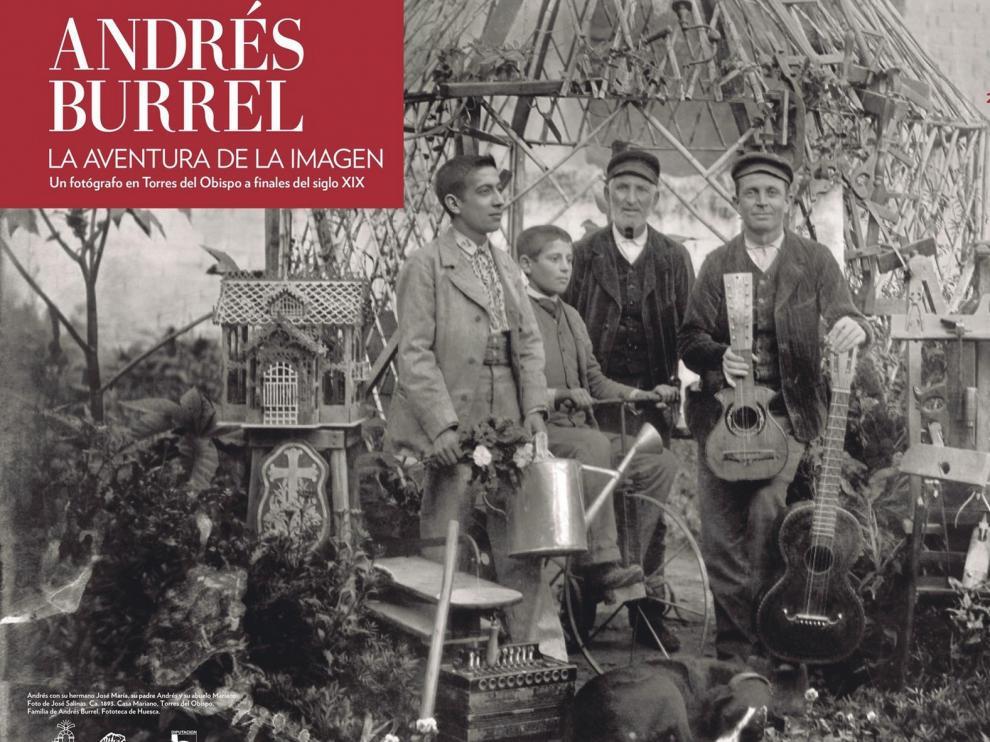 El público puede ver la exposición de Andrés Burrel desde su casa