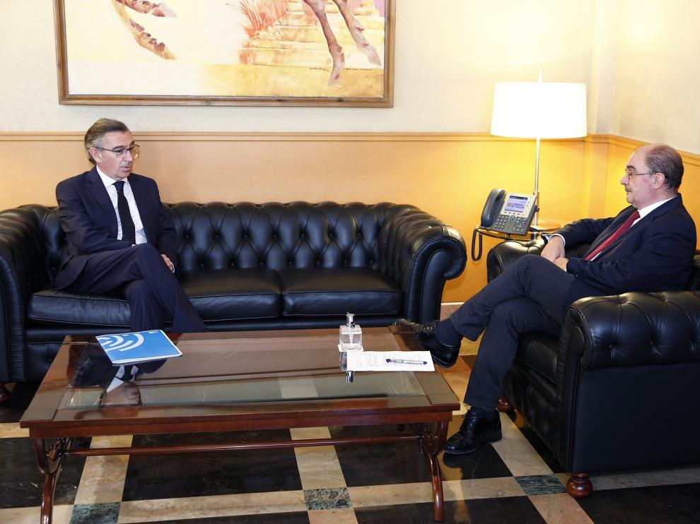 Lambán y Beamonte mantienen abordan las prioridades en la superación de la crisis sanitaria y económica