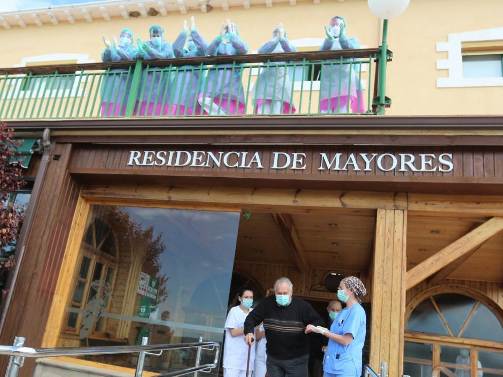 """Seis residencias de la provincia de Huesca han recibido el """"alta"""" tras tener casos de coronavirus"""