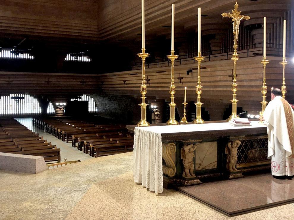 Torreciudad también vuelve a abrir sus puertas para el culto con aforo reducido
