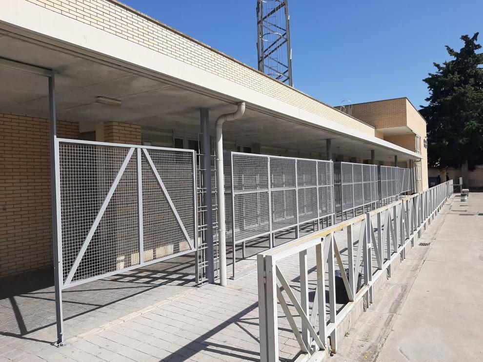 El Ayuntamiento de Monzón hace obras en el Antonio Alcubierre