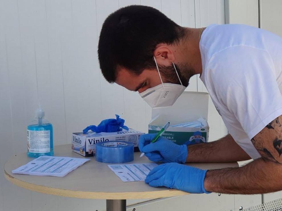El Huesca completa todas las pruebas médicas