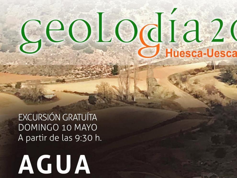 El GeoloDía Huesca 2020 muestra otra manera de observar el paisaje de Calasanz