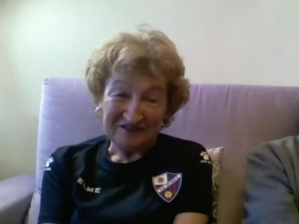 El Huesca no olvida a sus socios más veteranos