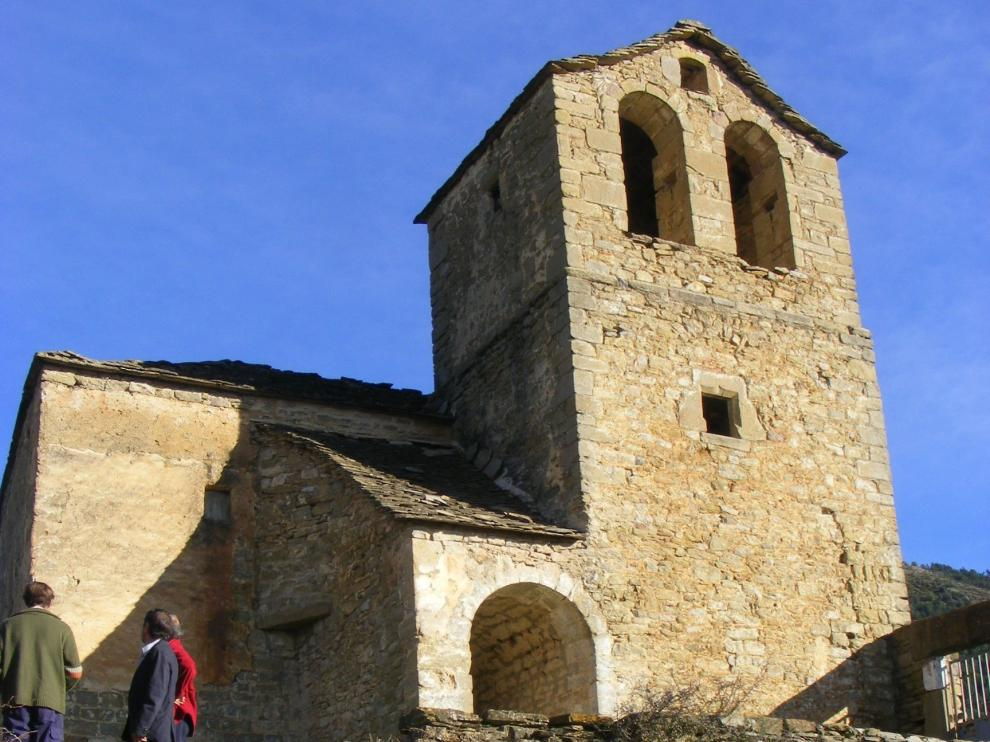 Las iglesias serrablesas lucen en todo su esplendor