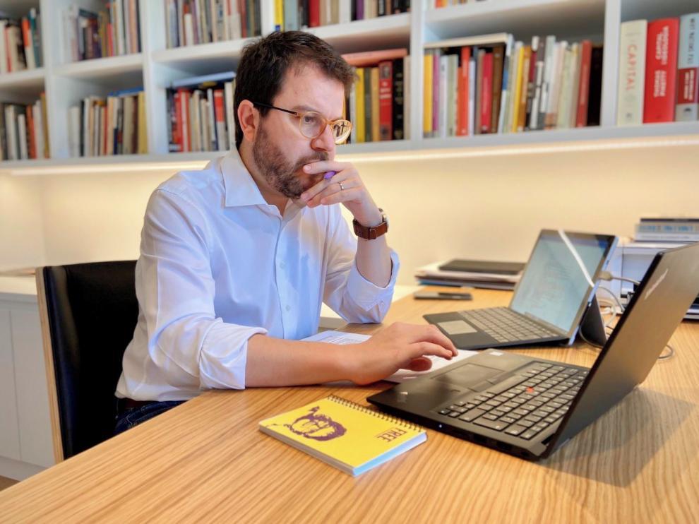 """Pere Aragonès: """"Revisaremos el """"no"""" al estado de alarma si dejan decidir a las autonomías"""""""