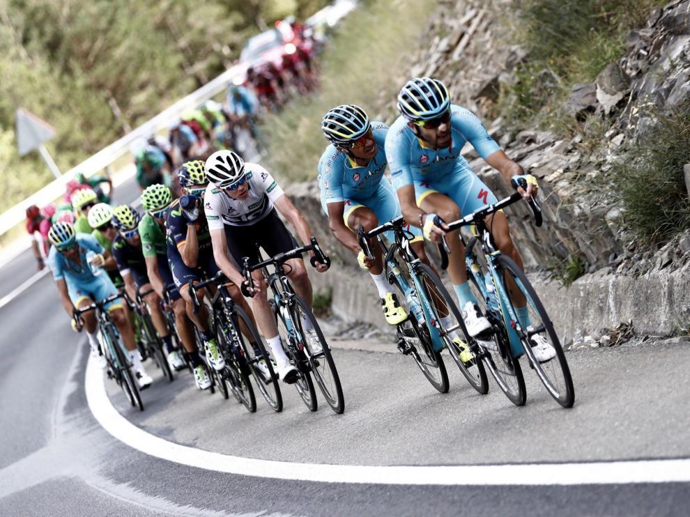 Sabiñánigo y Biescas esperan que la Vuelta sea una buena promoción