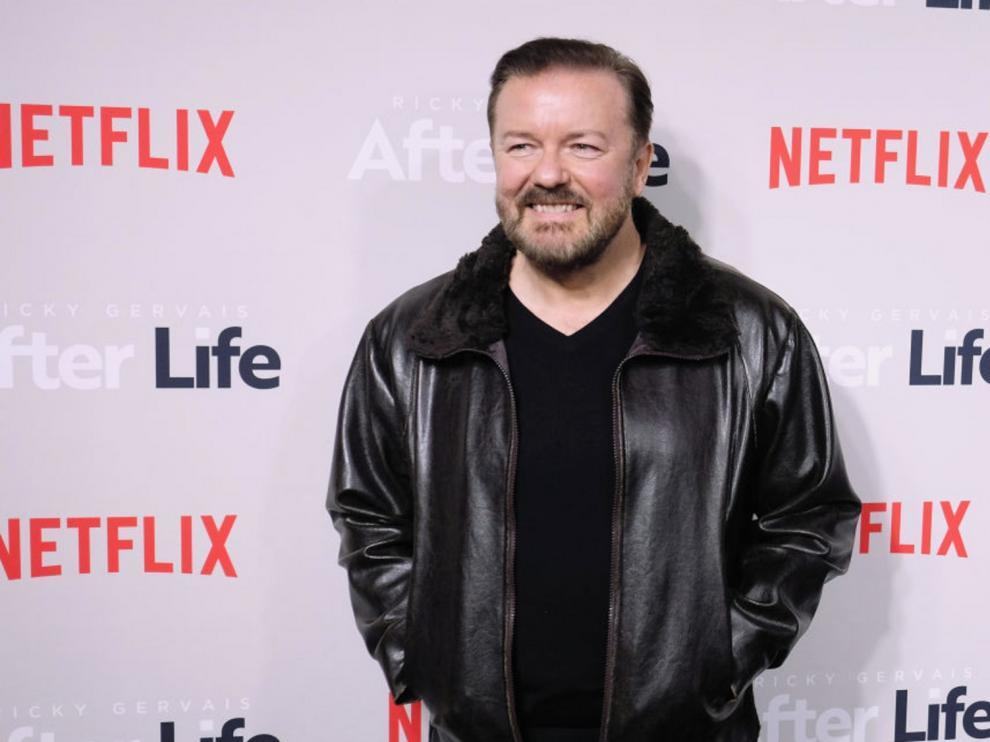 Ricky Gervais firma un acuerdo de colaboración global con Netflix