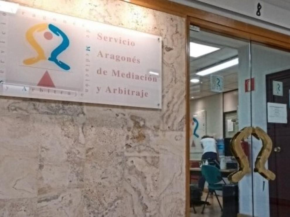 El Servicio Aragonés de Mediación y Arbitraje reanuda este lunes la actividad de manera virtual
