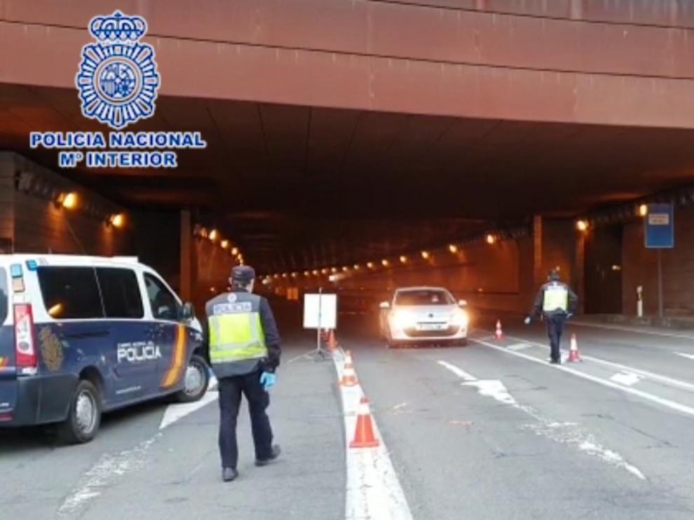 La Policía Nacional ha controlado más de 5.000 personas y 4.700 vehículos en el túnel del Somport