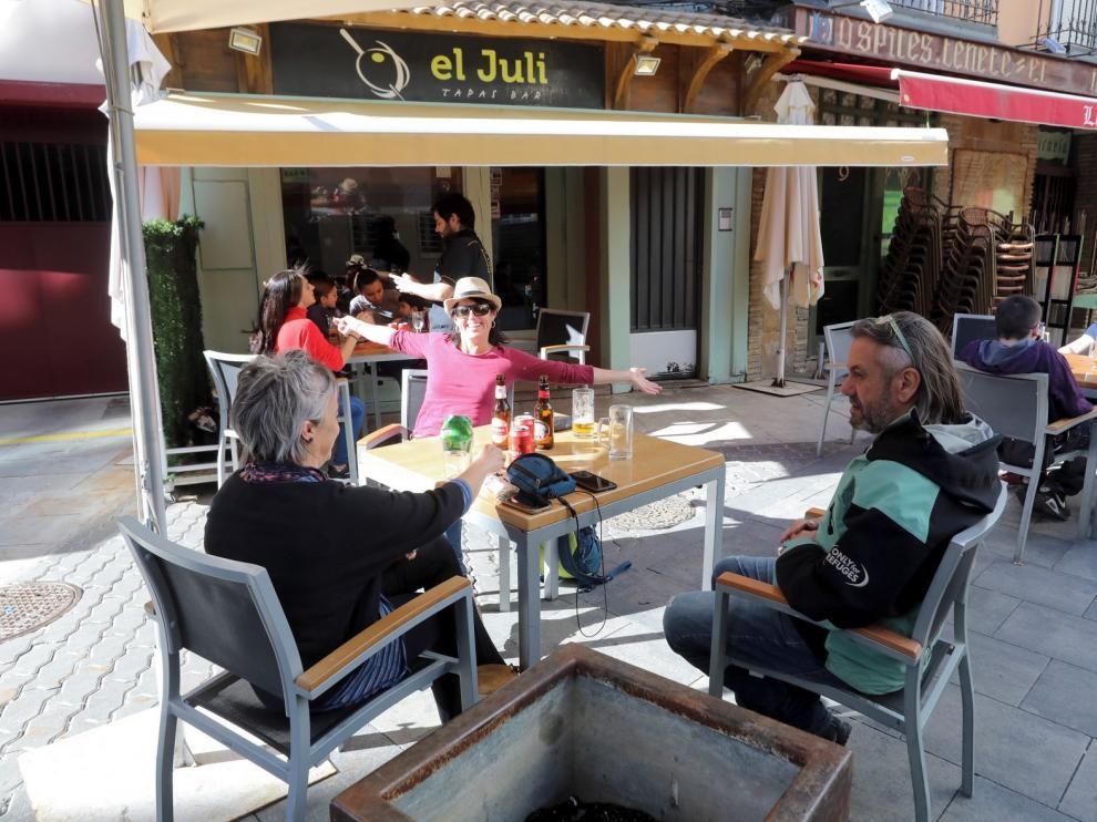 Los veladores de Huesca amplían su horario hasta la madrugada