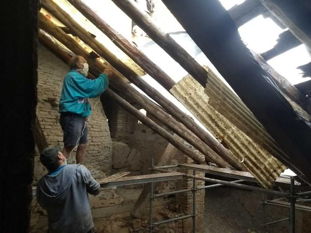 Cede parte del tejado de una joya del arte mudéjar