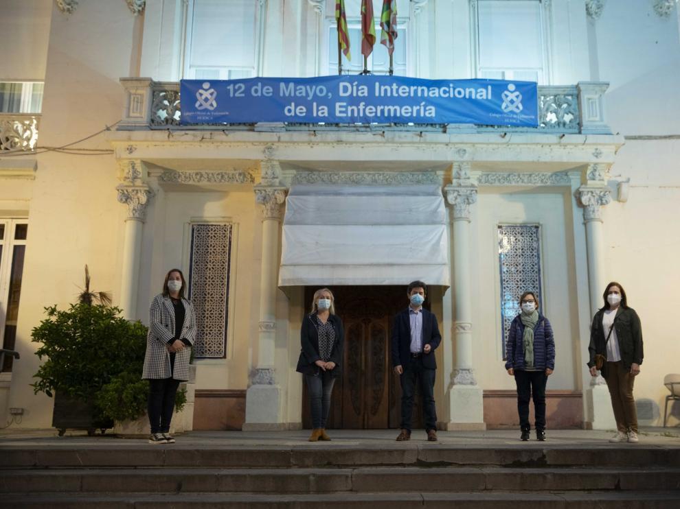 Huesca celebra el Día Mundial de la Enfermería