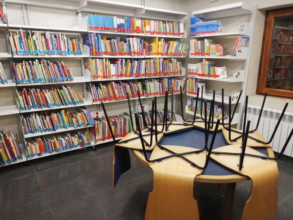 La biblioteca de Biescas vuelve con éxito