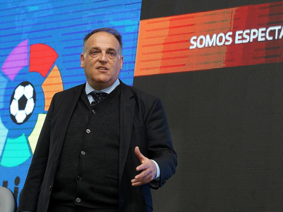 """Javier Tebas: """"Me gustaría que la liga empezase el 12 de junio, pero no sé si ocurrirá"""""""