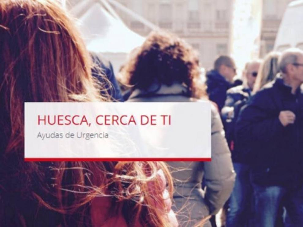 """El ayuntamiento de Huesca lanza la web """"cerca de ti"""" para ayudas de urgencia"""