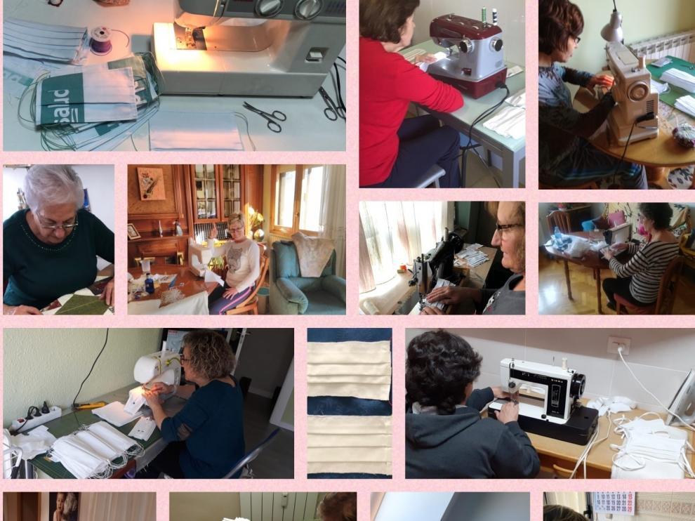Las voluntarias de la AECC Sabiñánigo dan a conocer su labor en un video