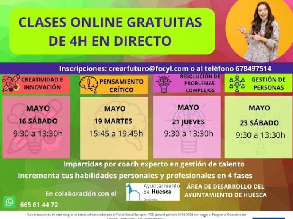El Ayuntamiento de Huesca ofrece cursos online para mejorar competencias