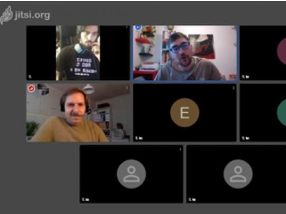 Zapico protagoniza un encuentro virtual con los lectores oscenses