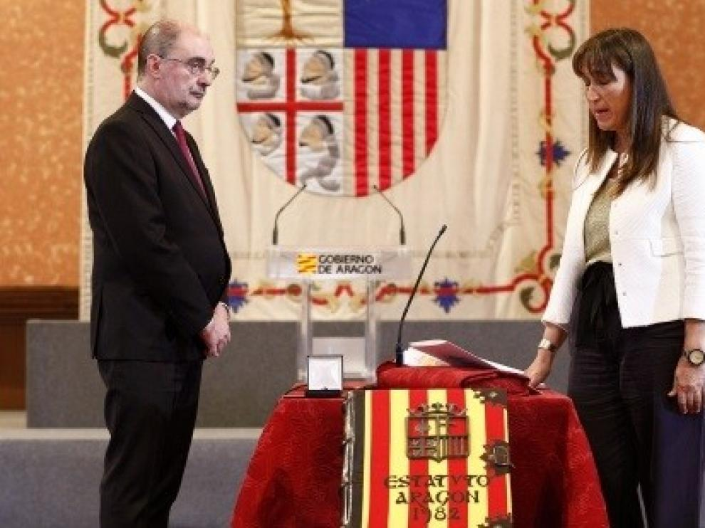 La nueva consejera de Sanidad de Aragón tiende la mano al diálogo con los profesionales