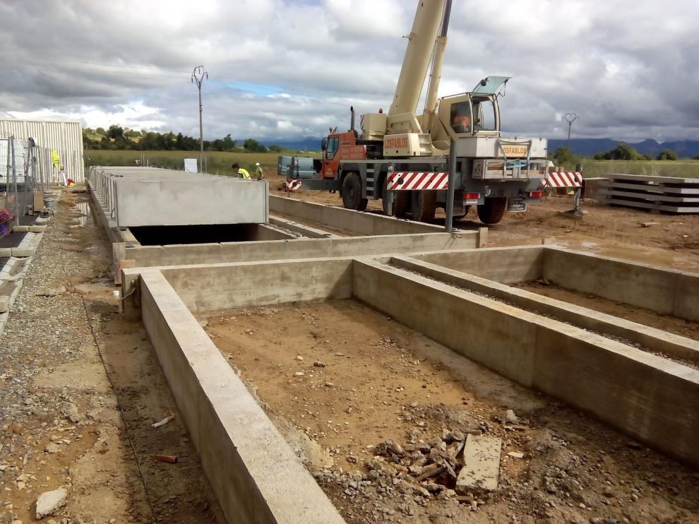 Avanza la construcción de 216 nichos en el Cementerio Municipal de Huesca