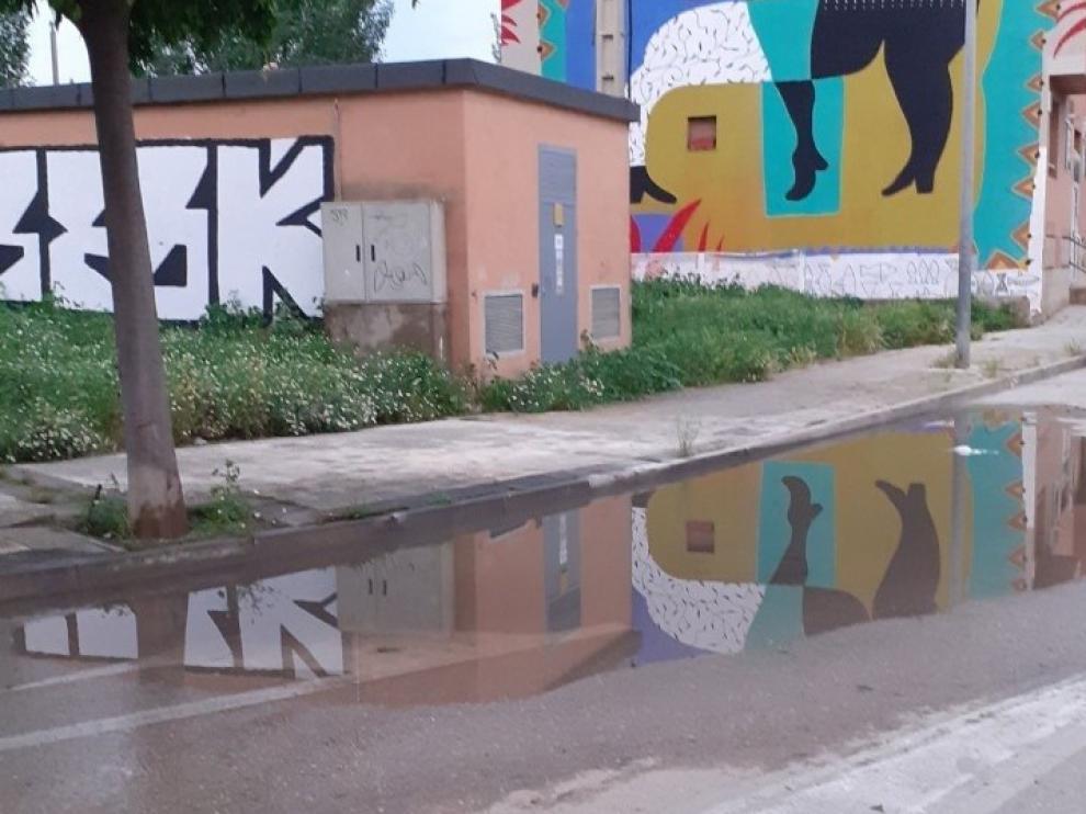 Vecinos de Balsas de Chirín de Huesca denuncian el vertido de aguas fecales