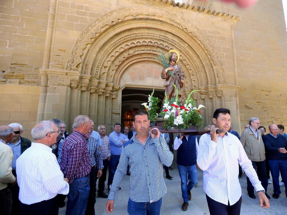 Las tallas de San Isidro Labrador no saldrán este viernes a las calles y sólo se celebrarán algunas misas