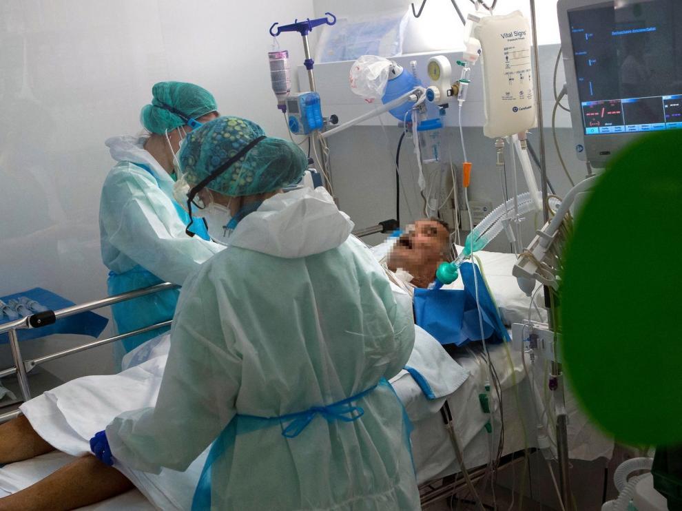 Primera denuncia penal en Aragón por una muerte debida al coronavirus
