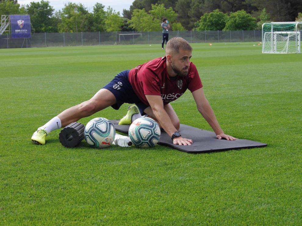 El Huesca sigue el protocolo y pasa la segunda tanda de test