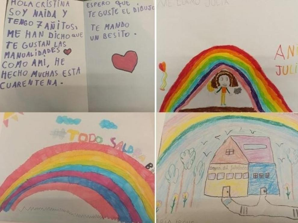 El intercambio de cartas une en Sabiñánigo a mayores y pequeños