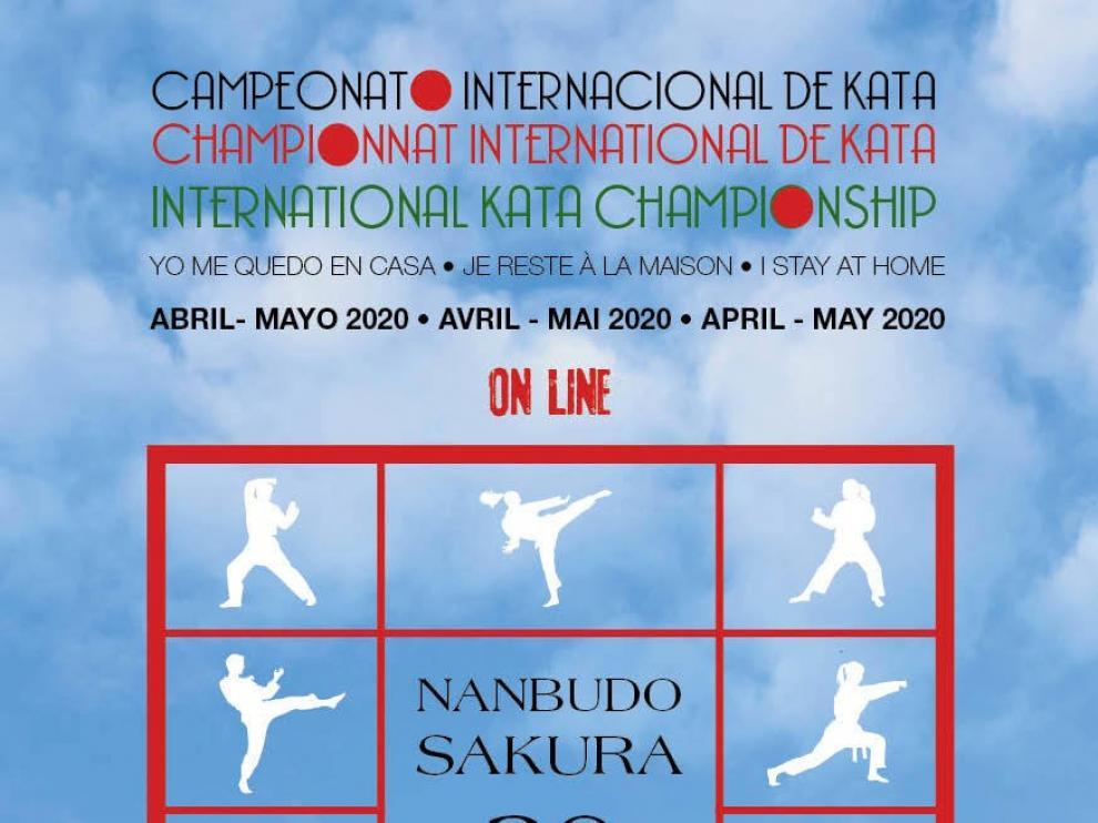 Campeonato Internacional de Katas desde casa