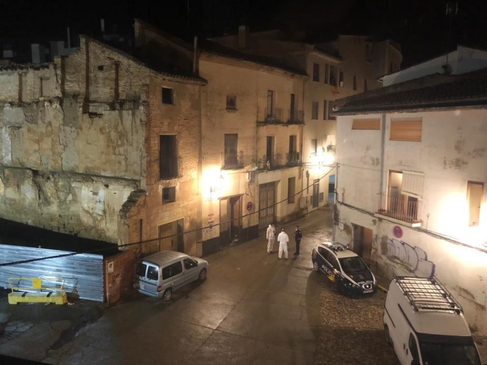 Fallece una joven de 26 años por sobredosis en una casa ocupada de la plaza de la Moneda de Huesca