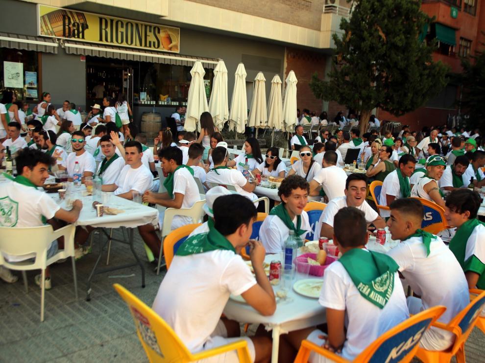 La hostelería y el comercio de Huesca abogan por repensar agosto ante la suspensión de las fiestas de San Lorenzo