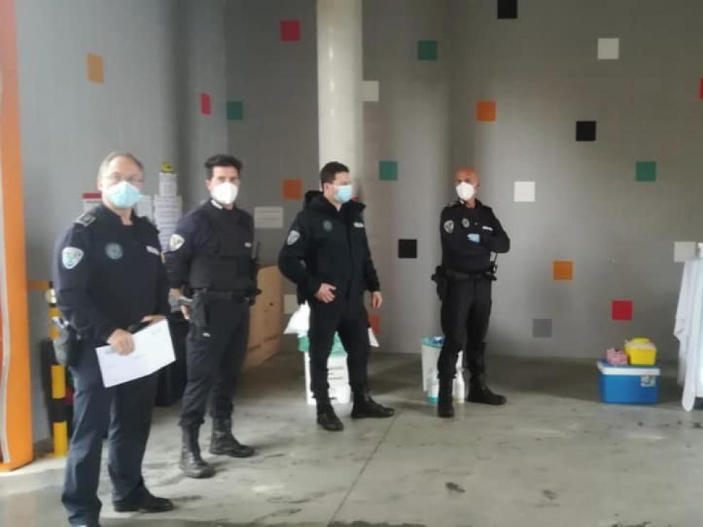 La Policía Local de Barbastro da negativo en las pruebas de coronavirus