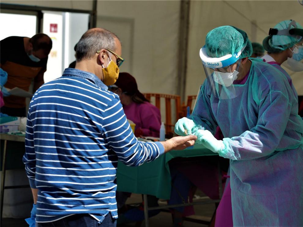 El Alto Aragón suma el 41 % de contagios de la semana